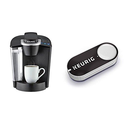Keurig K55 Single Serve Programmable K-Cup Pod Coffee Maker, Black & Keurig K-Cup Pods Dash Button