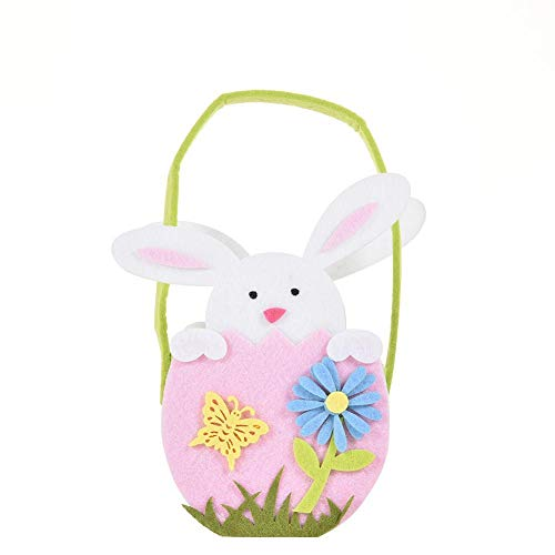 sweet dream Storage Bag 3 Styles Bunny Gift Bag with Rabbit Printed Easter Supplies for Easter Party Favors Candy Gift -