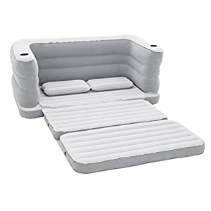 Bestway Multi Max II Outdoor Inflatable Bed, Grey