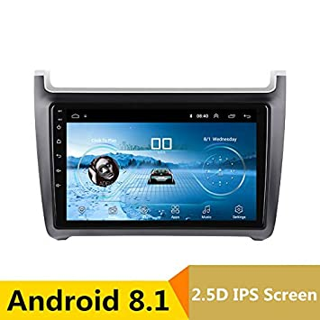 "Reproductor Multimedia de 10,1"" Android DVD GPS para VW Polo 2011 2012 2013"