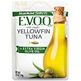 StarKist Selects Yellowfin Tuna in Extra Virgin Olive Oil, 2.6 Ounce Pouch (Pack of 24)
