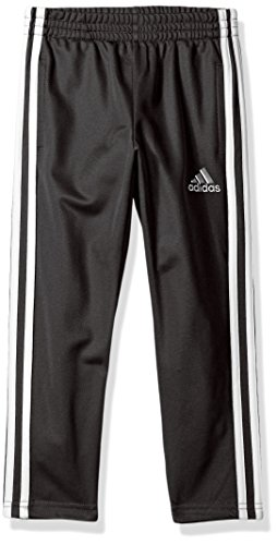 adidas Boys' Little Tapered Trainer Pant, Black, 5