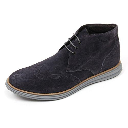 Gold Brothers C3676 Polacchino Uomo Scarpa Blu Boot Shoe Man Blu