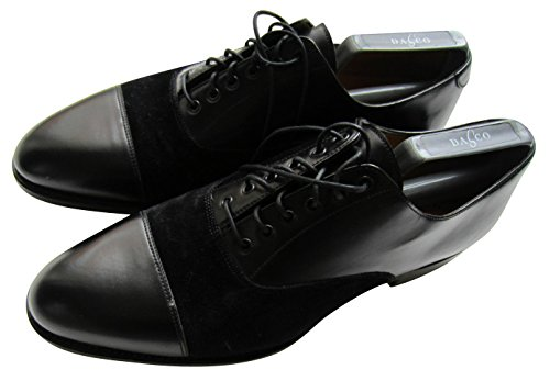 Excellence Paul Chaussure Hommes Suédé Soirée Cuir En De Chaussures Smith Habillée Noir xvSqHB8