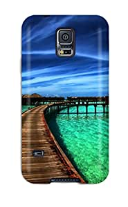 Fashion YfUripw6132oIqSf Case Cover For Galaxy S5(house)