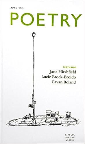 Book Poetry ... April 2013