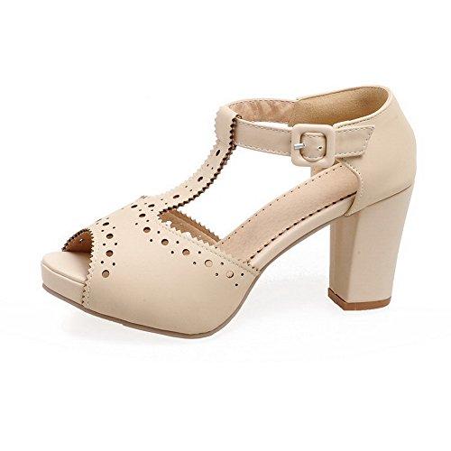 Adee , Sandales pour femme - Beige - beige, 38