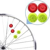 7TECH Bright Led Bike Wheel Light LED Mini Spoke Lights - 4 Pack