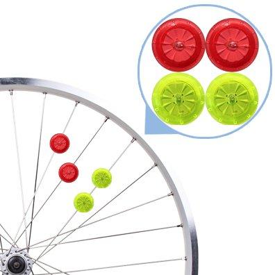 7TECH Bright Led Bike Wheel Light LED Mini Spoke Lights - 4 (Mini Spoke)