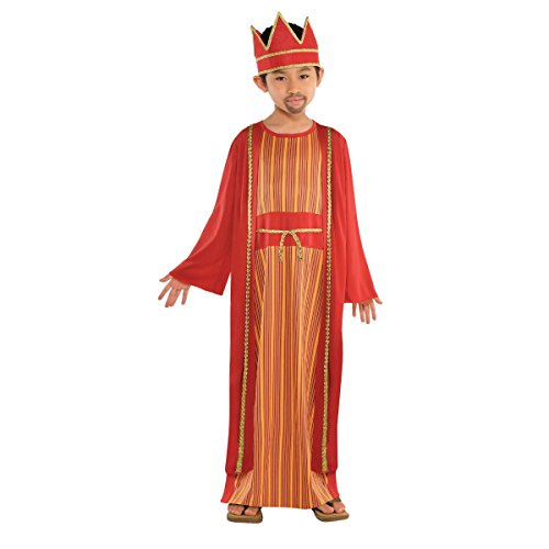 Amscan Balthazar Wise Man Costume for Boys,