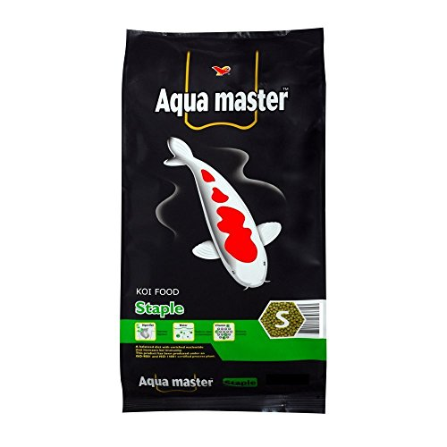 Image of Aqua Master Staple Fish Food, 11-Pound/Bag, Large