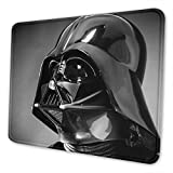 Star Wars Darth Vader Mouse Pad with Stitched Edge Premium-Textured Mouse Mat Non-Slip Rubber Base Mousepad for Laptop Computer & PC 11.81 X 9.84 X 0.12 inches
