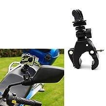 Kocome Bike Handlebar Roll Clamp Bar Mount +Tripod Adapter For GoPro Hero 2 3+ 4 Camera