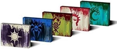 Magic the gathering GATECRASH Prerelease Pack Box Set of 5 Guild Packs SEALED!!