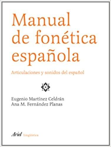 Manual de fonética española (Ariel Letras): Amazon.es: Ana ...