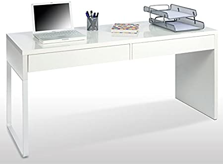 Mesa Escritorio Reversible Touch Ref.002315BO - LuxoMobel: Amazon ...