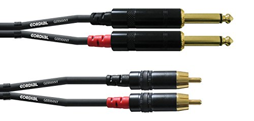 (Cordial PC Cable CFU 1,5 PC black)