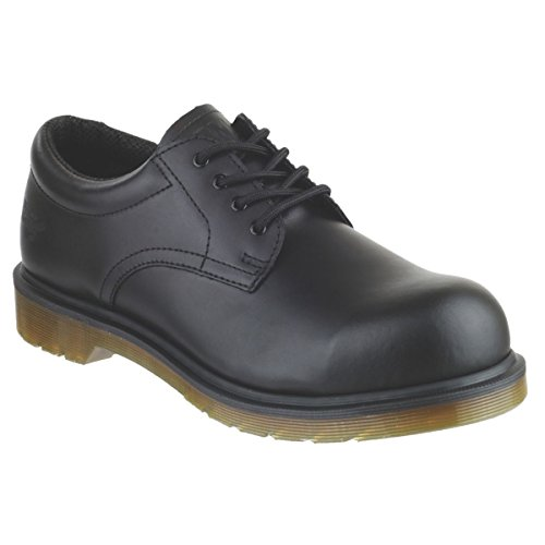 2216 De 10 Seguridad Negro nbsp;zapatos Martens Dr Icon Tamaño 1ET1v