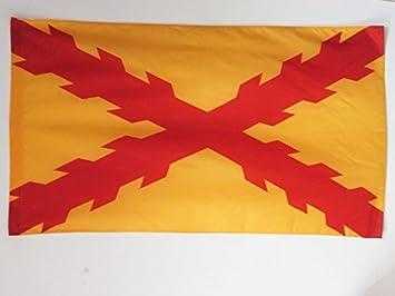 AZ FLAG Bandera de ESPAÑA TERCIOS MORADOS Viejos 90x60cm para Palo - Bandera Ejercito ESPAÑOL 60 x 90 cm: Amazon.es: Hogar