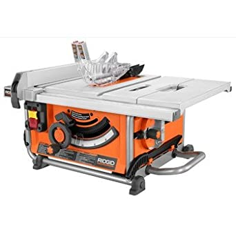Ridgid R4516 10 in. Portable Jobsite Table Saw