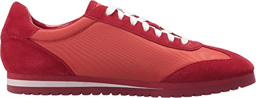 Coach Womens Ian Sneaker (midnight Navy / Chalk) Red / Carmine