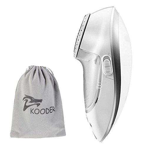 KOODER Sweater Shaver, Rechargeable Fabric Shaver, Lint Remover. Double battery capacity for longer working time. Suitable to Use on Pilling Surfaces, Such As Sweater, Coat, Glove,and Much More!