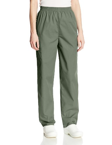 kwear Scrubs Pull-On Cargo Pant, Olive, X-Small ()