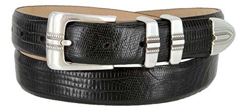 Buckle Designer (Kaymen Italian Calfskin Leather Designer Dress Golf Belts for Men 1-1/8