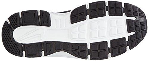 Nike Revolution 2 PSV Zapatillas de running, Niños Negro / Plateado / Blanco (Black / Metallic Silver-Wht-Vlt)