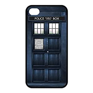 Doctor Who RUBBER SILICONE Case for iPhone 4, iPhone 4S,Tardis,Dr Who RUBBER iPhone Case-AZA WANGJING JINDA