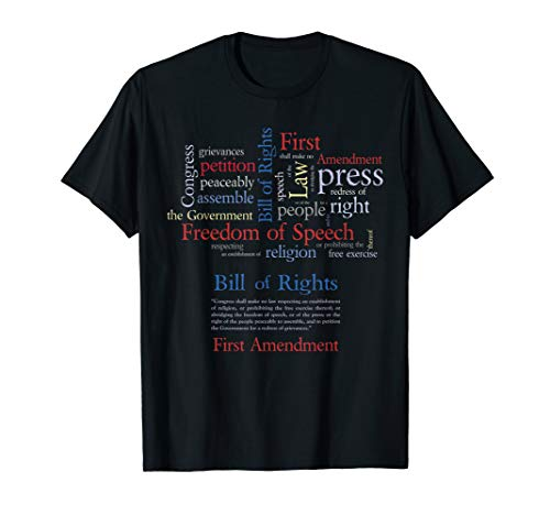 Freedom of Speech 1st Amendment T-Shirt