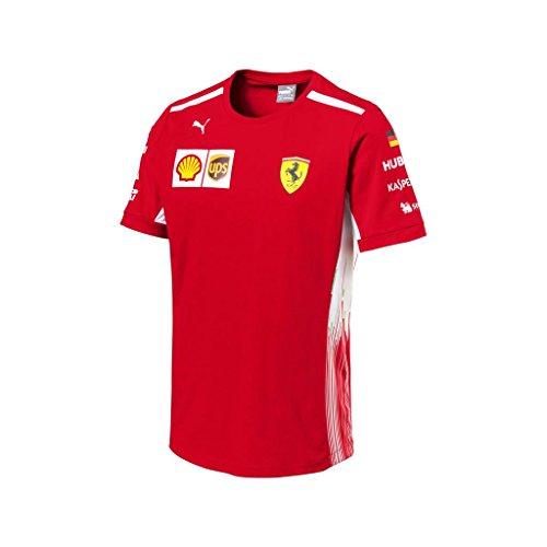 Ferrari F1 Scuderia (Scuderia Ferrari F1 Racing SF Team Driver Sebastian Vettel T-shirt Official 2018)