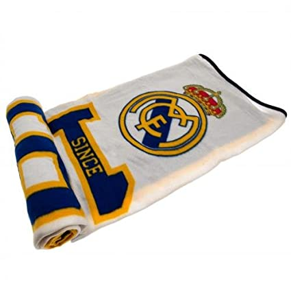 Real Madrid Throw Blanket
