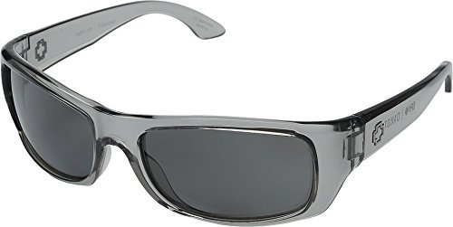 Spy Optic  Men's Dakota Clear Smoke/Grey Polarized One - How Smoke Lenses To