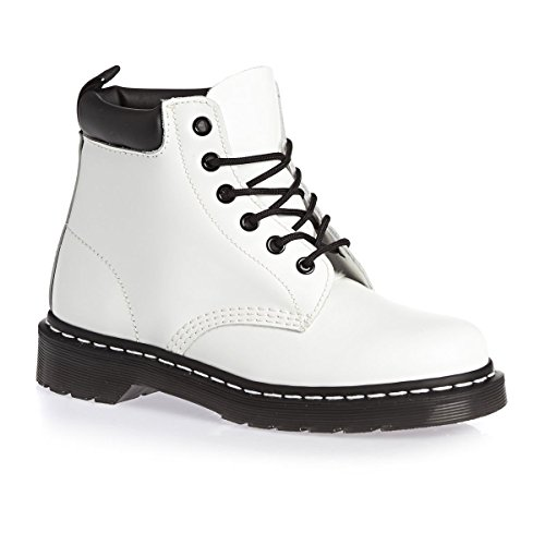 Dr. Martens Unisex 939 White Smooth Boot UK 4  M
