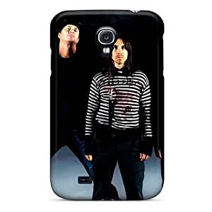 Samsung Galaxy S4 Unm3160GbyZ Customized Beautiful Red Hot Chili Peppers Pictures Bumper Phone Cases -MansourMurray