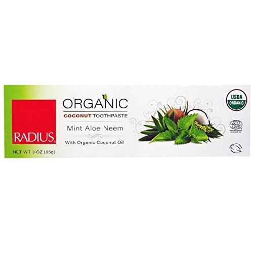 Price comparison product image Radius Toothpste,Mint,Aloe,Neem 3 Oz (Pack Of 6)