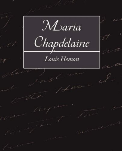 Read Online Maria Chapdelaine PDF