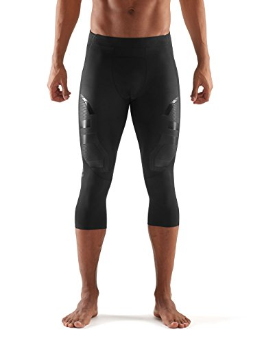 Skins Men's A400 Compression 3/4 Tights, Oblique, Small by Skins (Image #1)