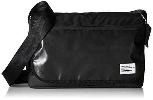 Armani Exchange Men's Utility Tarp Messenger Bag, Black by A|X Armani Exchange
