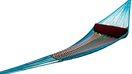 Hangit Cotton Hammock (Multicolor, 335 Centimeters)