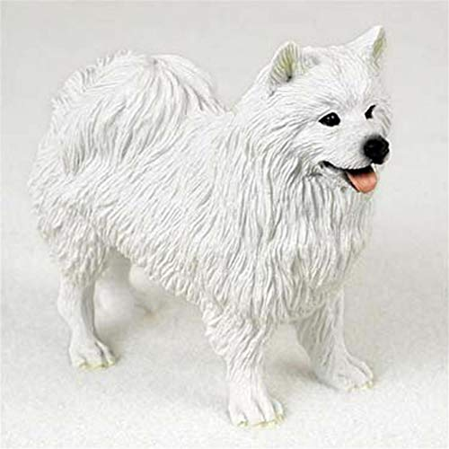 Ky & Co YesKela American Eskimo Figurine Hand Painted Collectible ()