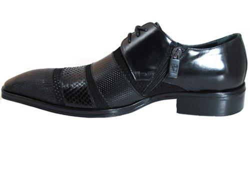 Jo Ghost 2696 Hombres Python Gamuza Lujosos Zapatos De Vestir