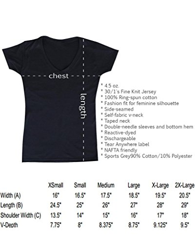 The Beating Will Continue Women's V-Neck T-shirt Until Morale Improves Shirts Large Charcoal #12066