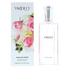 Yardley English Rose Eau De Toilette Spray 4.2 Oz/ 125 Ml for Women by Yardley Of London
