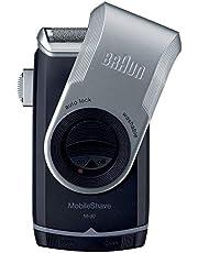 Braun Mobile Shave M90 Portable Electric Shaver Razor for Men's, Good for Travel