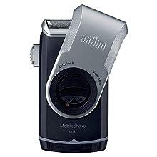 Braun MobileShave M-90 - Afeitadora eléctrica portátil