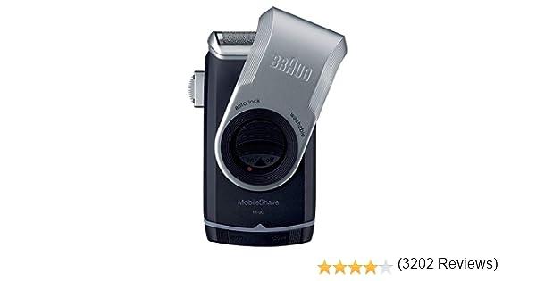 Braun MobileShave M-90 - Afeitadora eléctrica portátil: Amazon.es: Salud y cuidado personal