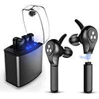 Syllable D9X IPX7 Bluetooth Wireless Earbuds with iPhone