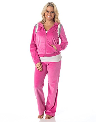 Pink Velour Tracksuit - 8